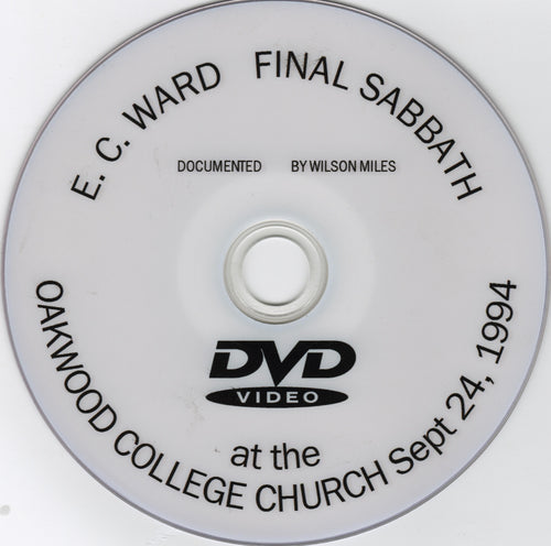 E. C. Ward's Final Sabbath at Oakwood College