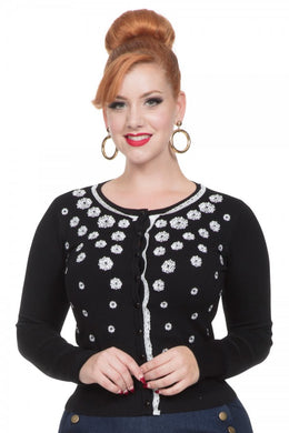 Leticia Rose Embroidery Cardigan