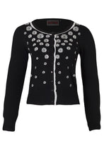 Load image into Gallery viewer, Leticia Rose Embroidery Cardigan