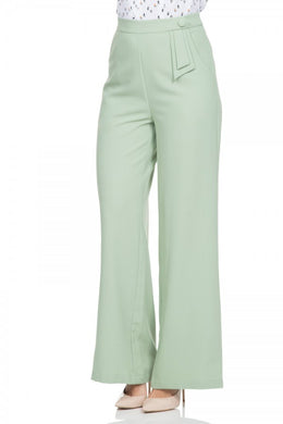 Sadie Pastel Green Trousers