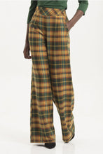 Load image into Gallery viewer, Nancy Tartan Flare Trousers
