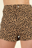 ISP3112-1-Iris-High Waist Leopard Shorts-RK Collections Boutique