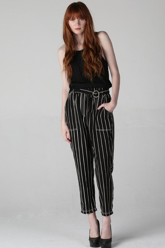 25R45-RJ22-1-Angie-vertical stripe ankle pant-RK Collections Boutique