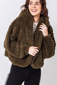 FL20C212-M-S-Favlux-faux fur hoodie jacket-RK Collections Boutique