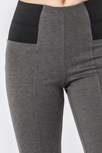 -Favlux-leggings with wide elastic waist-RK Collections Boutique