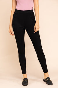 -Fashion USA-Faux Suede High Rise Skinny Pants-RK Collections Boutique