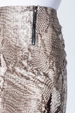 -Love In-snake print double zipper pencil skirt-RK Collections Boutique