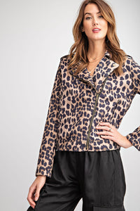 ET12748-1-Easel-Leopard faux suede moto jacket-RK Collections Boutique