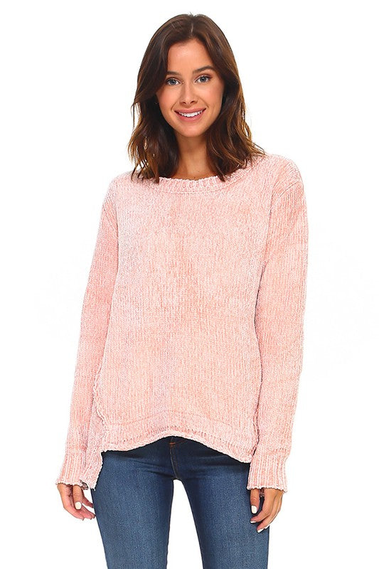 Chenille Cozy Soft Sweater
