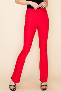 FL20F648-C-S-Favlux-High waist flare pants-RK Collections Boutique