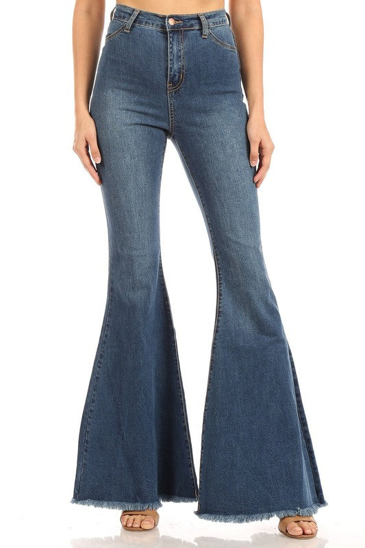 Super Flare Bell Bottom Jeans