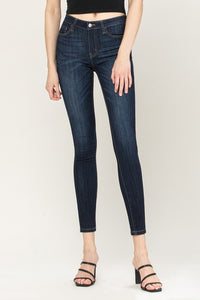 Mid-rise ankle skinny jean