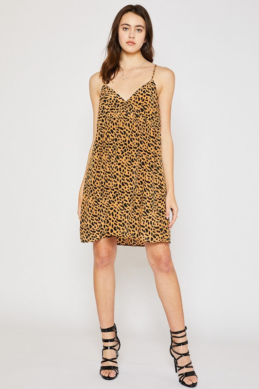 -Mittoshop-leopard cami dress-RK Collections Boutique