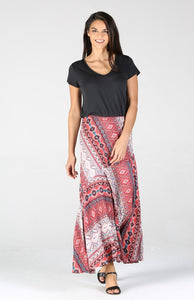 G6200MD55-1-Nostalgia-boho flared maxi skirt-RK Collections Boutique