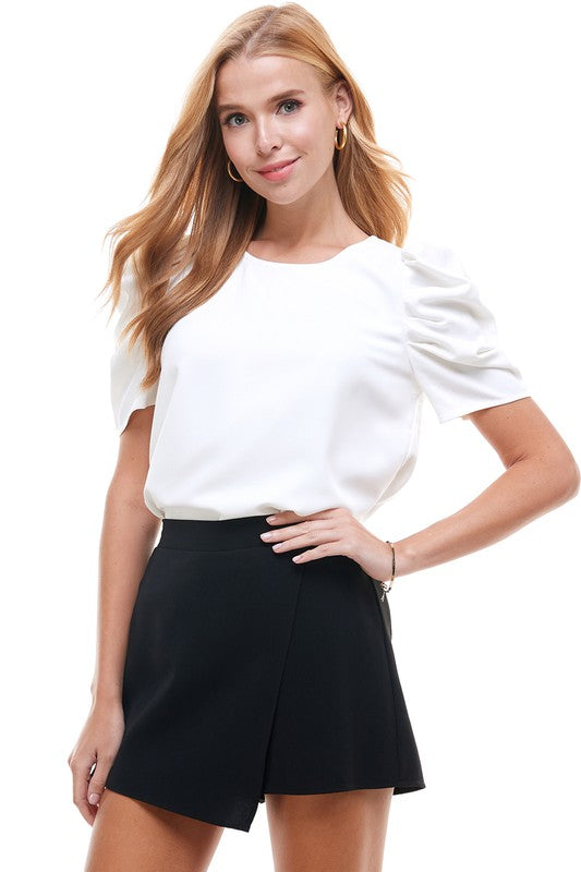 Puff Short Sleeve Top