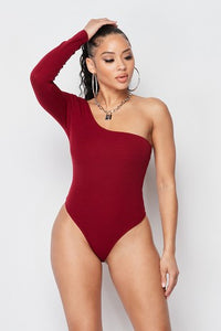 One long sleeve bodysuit