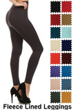 FL-900-2-New Mix-Fleece Lined Leggings-RK Collections Boutique