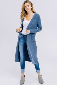 Brushed Knit Cardigan