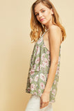 -Entro-Floral print wrap tank-RK Collections Boutique