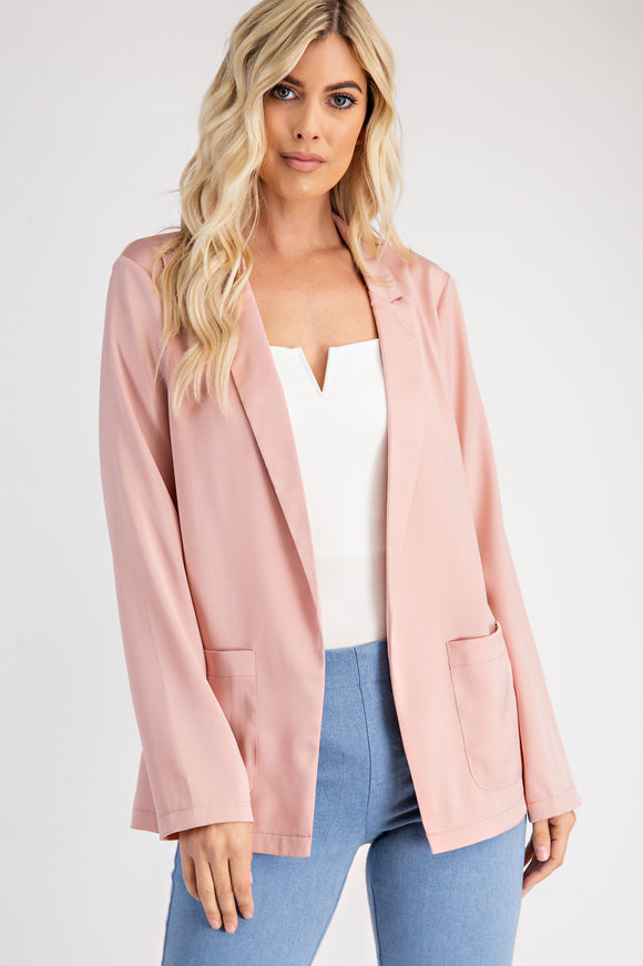 Boyfriend Blazer with Front pockets
