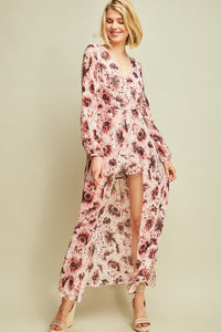R7952-M-S-Entro-Floral print maxi romper-RK Collections Boutique