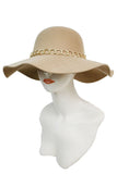 -Cap Zone-Floppy Hat Gold Chained Band-RK Collections Boutique