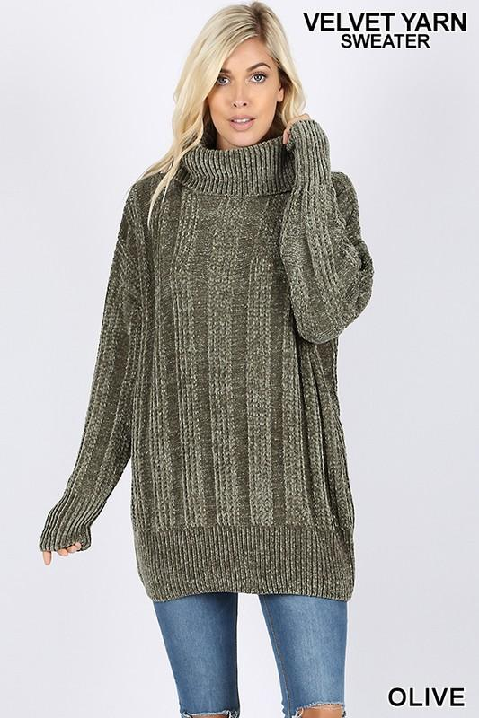 ... chenille oversized cable knit turtleneck sweater - by Zenana -  available at rkcollections.myshopify. ... e1652f979