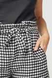tweed paperbag dressy shorts