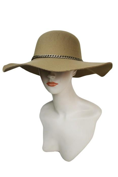 SN-742-Cap Zone-Floppy hat with gold chain-RK Collections Boutique