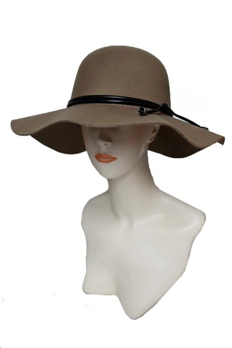 floppy hat with belted faux leather band - by Cap Zone - available at rkcollections.myshopify.com -  - Accessory:Hat