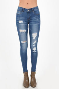 hammer destroyed skinny jeans - by Hammer Premium Denim - available at rkcollections.myshopify.com -  - Jeans