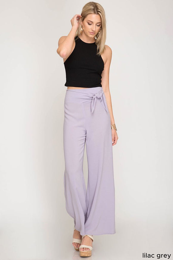high waist wide leg trousers - by She + Sky - available at rkcollections.myshopify.com -  - Pants