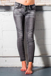 hyperflex front curved seams skinny jean - by YMI - available at rkcollections.myshopify.com -  - Jeans