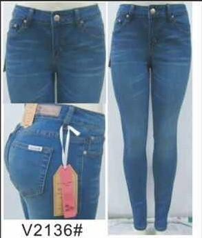 Mid Rise Skinny Jean - by Vins Me - available at rkcollections.myshopify.com -  - Jeans