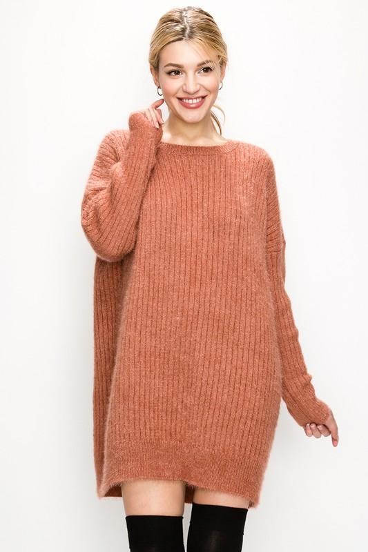 Oversized Sweater Dress - by Favlux - available at rkcollections.myshopify.com -  - Dress
