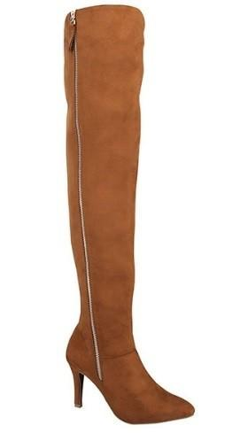 pointed toe over the knee boot - by Forever - available at rkcollections.myshopify.com -  - Shoe:TallBoot