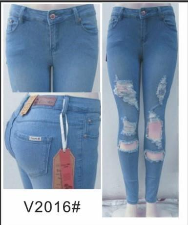 shredded skinny jean - by Vins Me - available at rkcollections.myshopify.com -  - Jeans