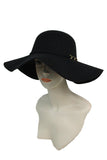 -Cap Zone-Floppy Hat with Band & 6 link Chain-RK Collections Boutique