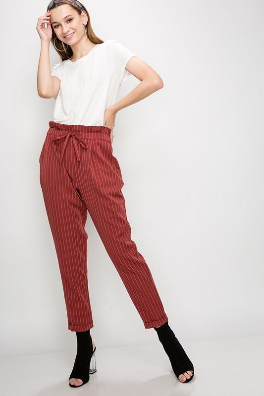 Stripe Jogger Pant - by Favlux - available at rkcollections.myshopify.com -  - Pants