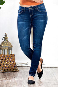 wannabettabutt skinny jean p485556 - by YMI - available at rkcollections.myshopify.com -  - Jeans