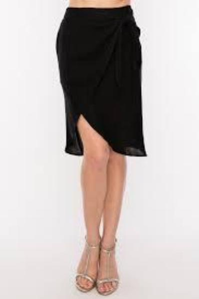 woven Wrap Skirt - by HyFve - available at rkcollections.myshopify.com -  - Skirts