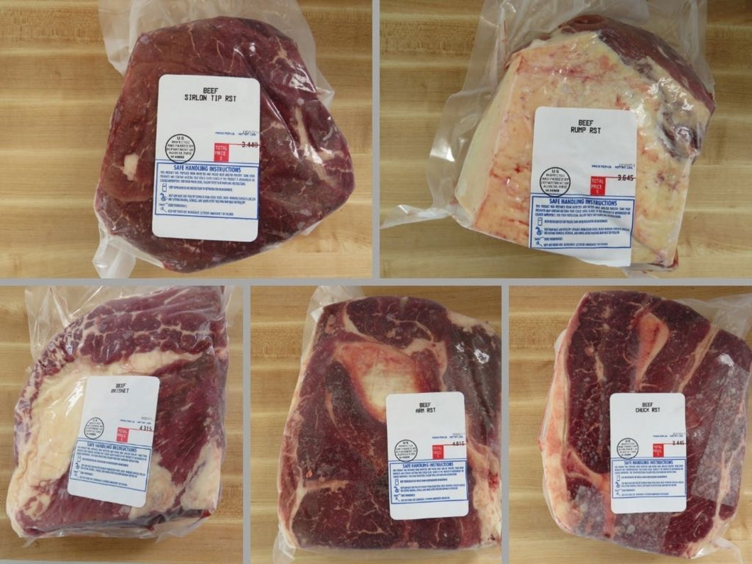 grassfed beef roast pack choices