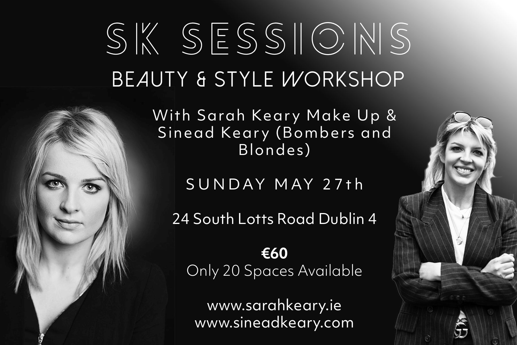 Beauty & Style Workshop Dublin – Sarah Keary