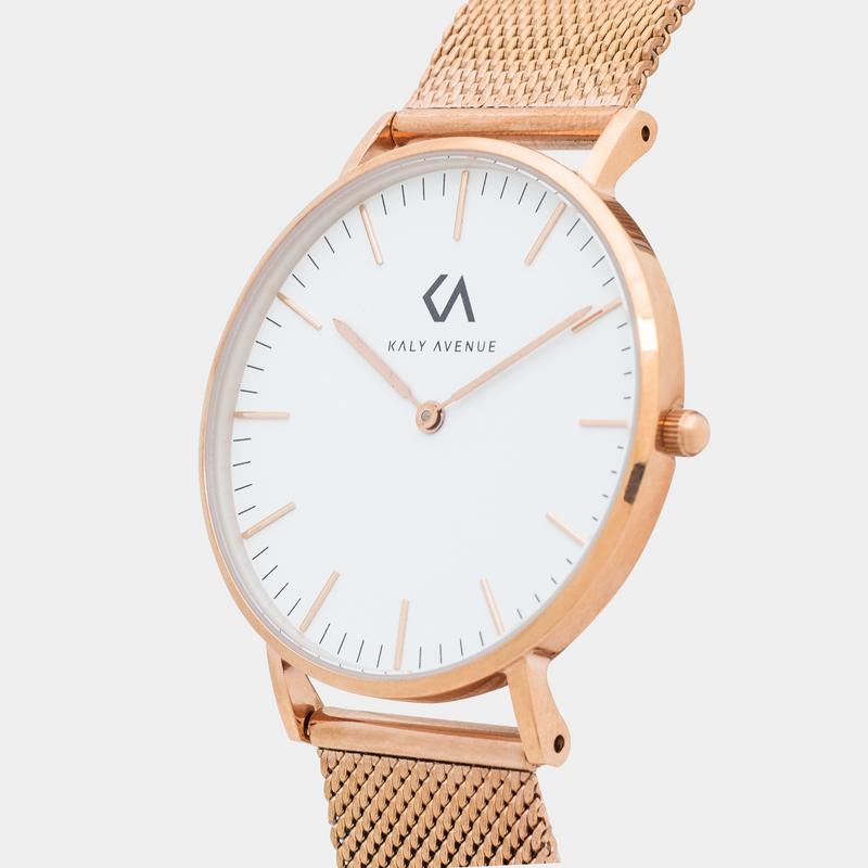 Pearl – Rose Gold White - KALY AVENUE