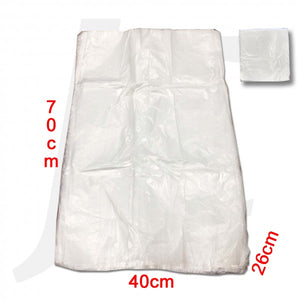 Plastic Bag (40+26)x70cm 400g 100pcs Foot Spa Medium Thick 泡脚塑料袋 J56FB4