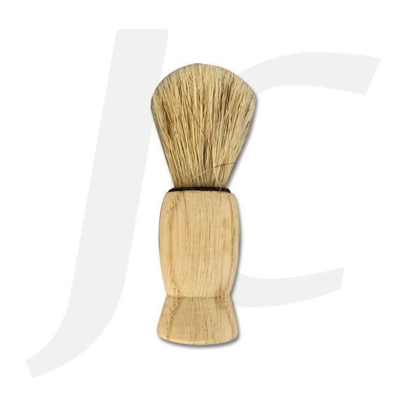 Tiny Wooden Beard Shaving Brush J24ADB
