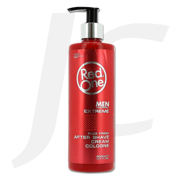 Red One After Shave Cream Cologne Extreme Red 400ml J24RAR