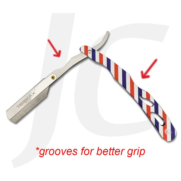 Termax Razor Classic Barber Style With Grooves For Better Grip J25CGB