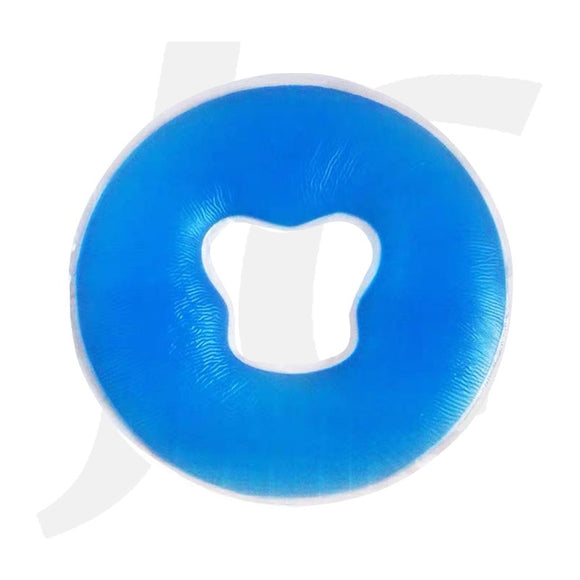 Breath Hole Face Pillow Silicone Pad Blue J39PWB