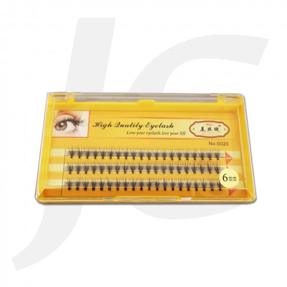 Semi Eyelash MSJ Yellow Box 0.10C 6mm J71 MJ6
